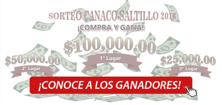Ganadores Del Sorteo Canaco Saltillo 2018 Compra Y Gana Canaco
